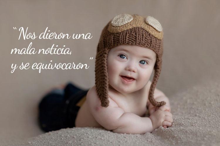 Juani un bebé con la historia de Juani Prevosti Hernández, un bebé con Sindrome de Down