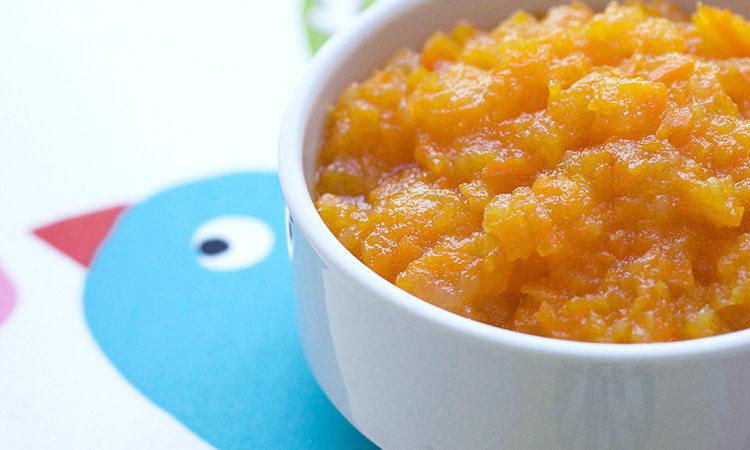 Papilla-de-pera-y-zanahoria