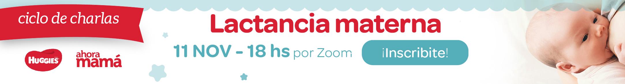 Banner Horizontal Ciclo de charlas